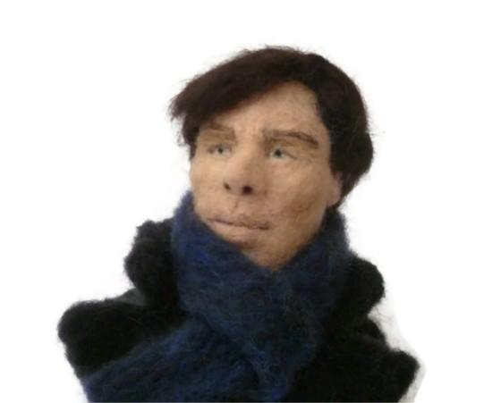Sherlock as Benedict Cumberbatch